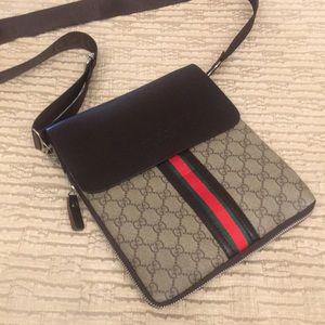 Leather Inspired Crossbody bag